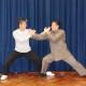 Master Tse doing Tui Shou with his Sifu, Grandmaster Chen Xiao Wang
