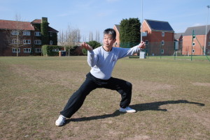 Master Tse performing the Chen Taijiquan Xinja form